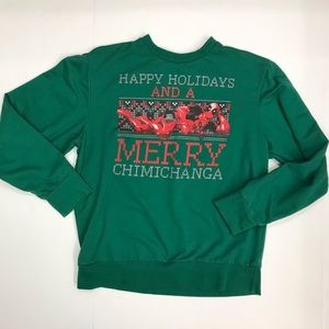 Deadpool happy holidays Merry Chimichanga Sweater